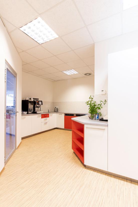 Kuchyňky pro softwarovou společnost Infor