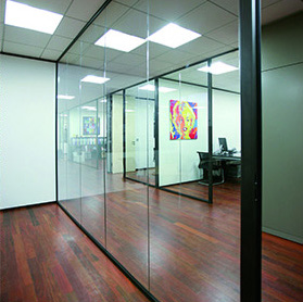 Glass dividing partitions - JA-Z