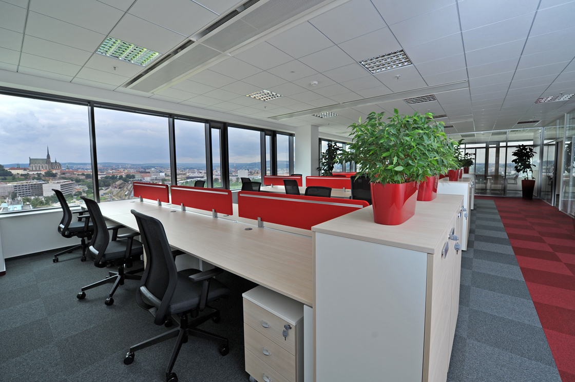 Kanceláře firmy Edwards Services
