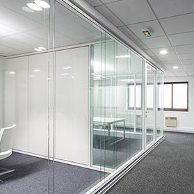 Glass dividing partitions - FIRST